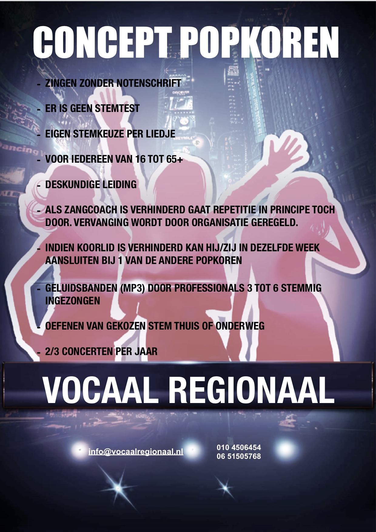 Concept Vocaal Regionaal