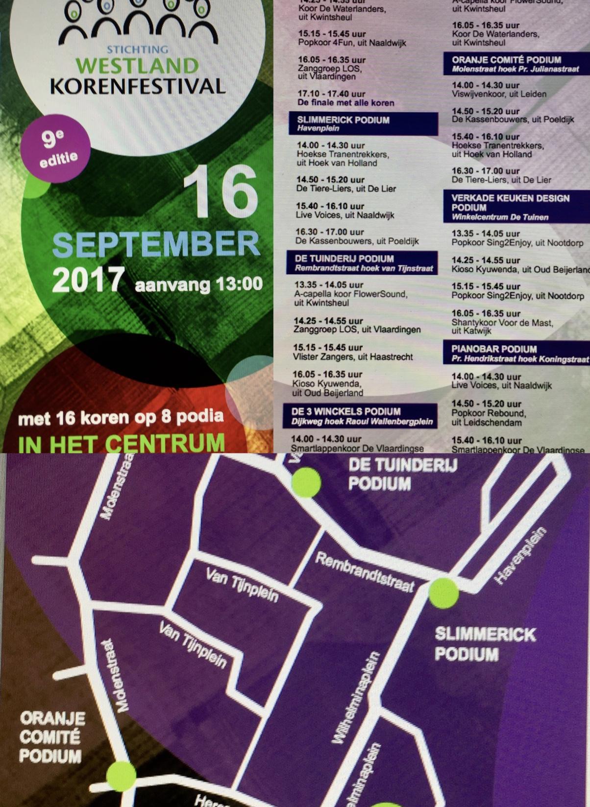 Westland korenfestival 16 september