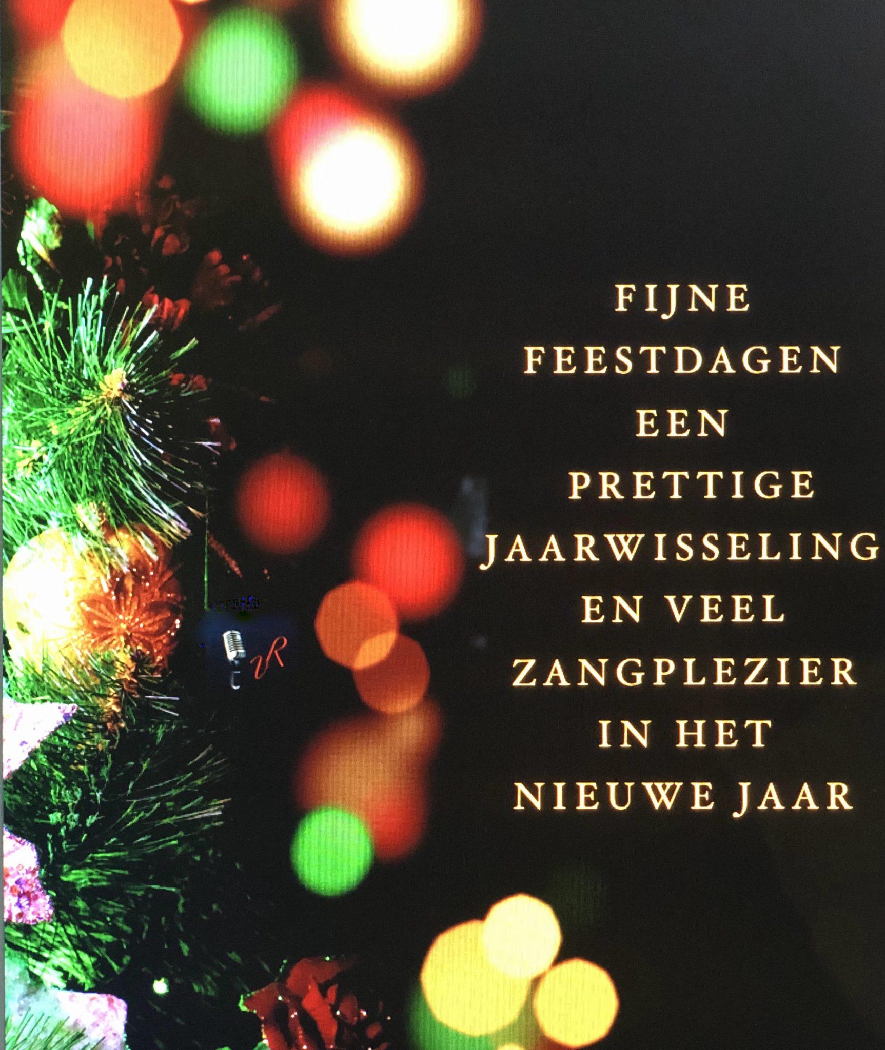 Kerst/Nieuwjaar